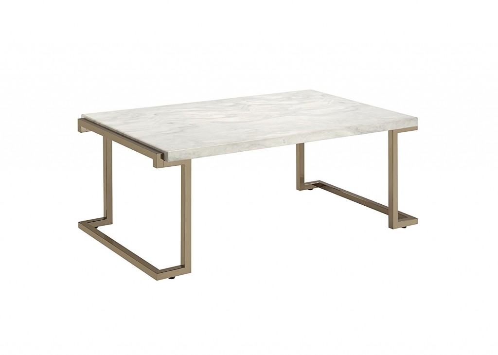 Rectangular Marble Coffee Table