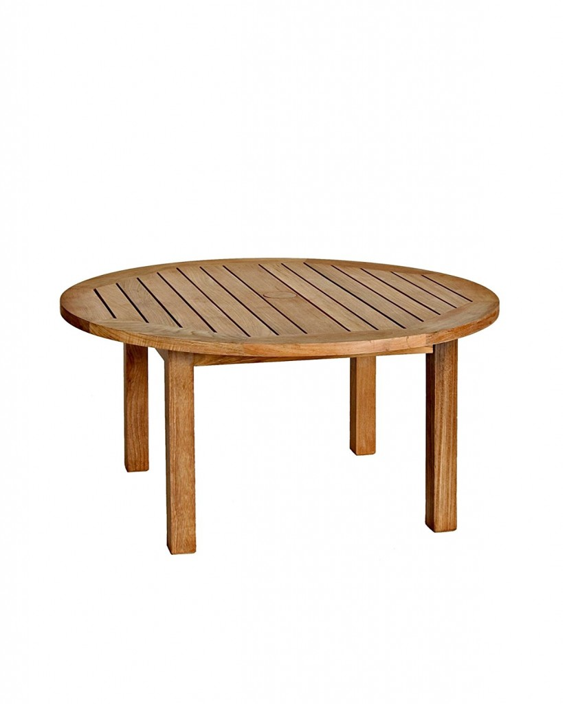 Round Patio Coffee Table