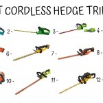 12 Best Cordless Hedge Trimmers