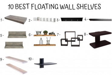 12 Best Floating Wall Shelves
