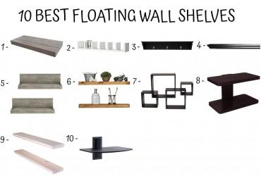 12 Best Floating Wall Shelves