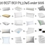 20 Best Bed Pillows Under 500$
