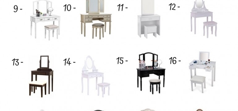 28 Best Vanity Tables