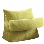 Adjustable Sofa Large Filled Triangular Wedge Cushion