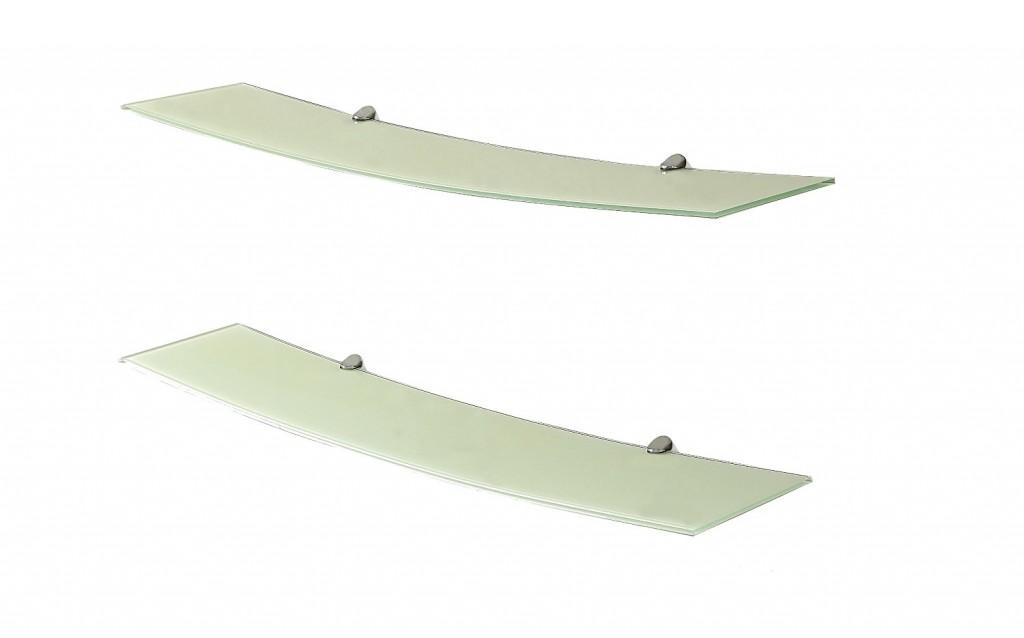 B Modern Levit8 Modern Glass Shelves