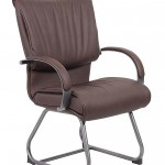 Boss Office Products B9709P BB LeatherPlus Guest Chair