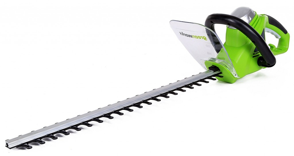 Greenworks 22 Inch 4 Amp Corded Hedge Trimmer 2200102