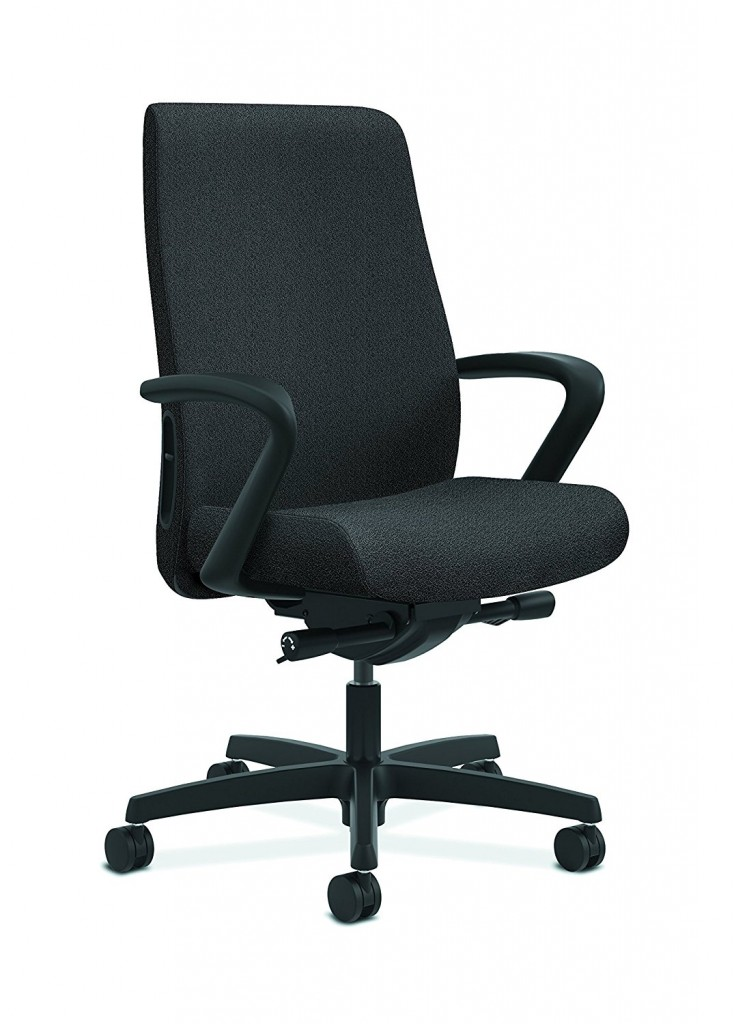 HON Endorse Mid Back Task Chair Upholstered Computer Chair