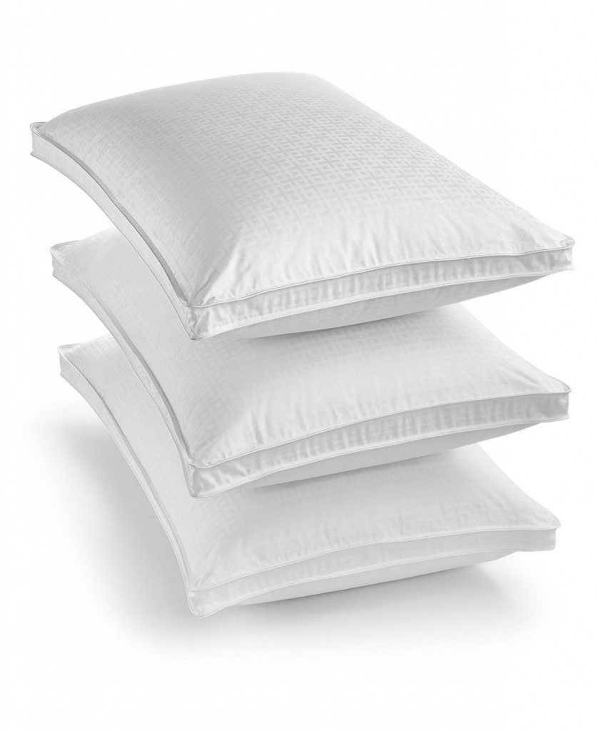 Hotel Collection European White Goose Down Firm Support King Pillow