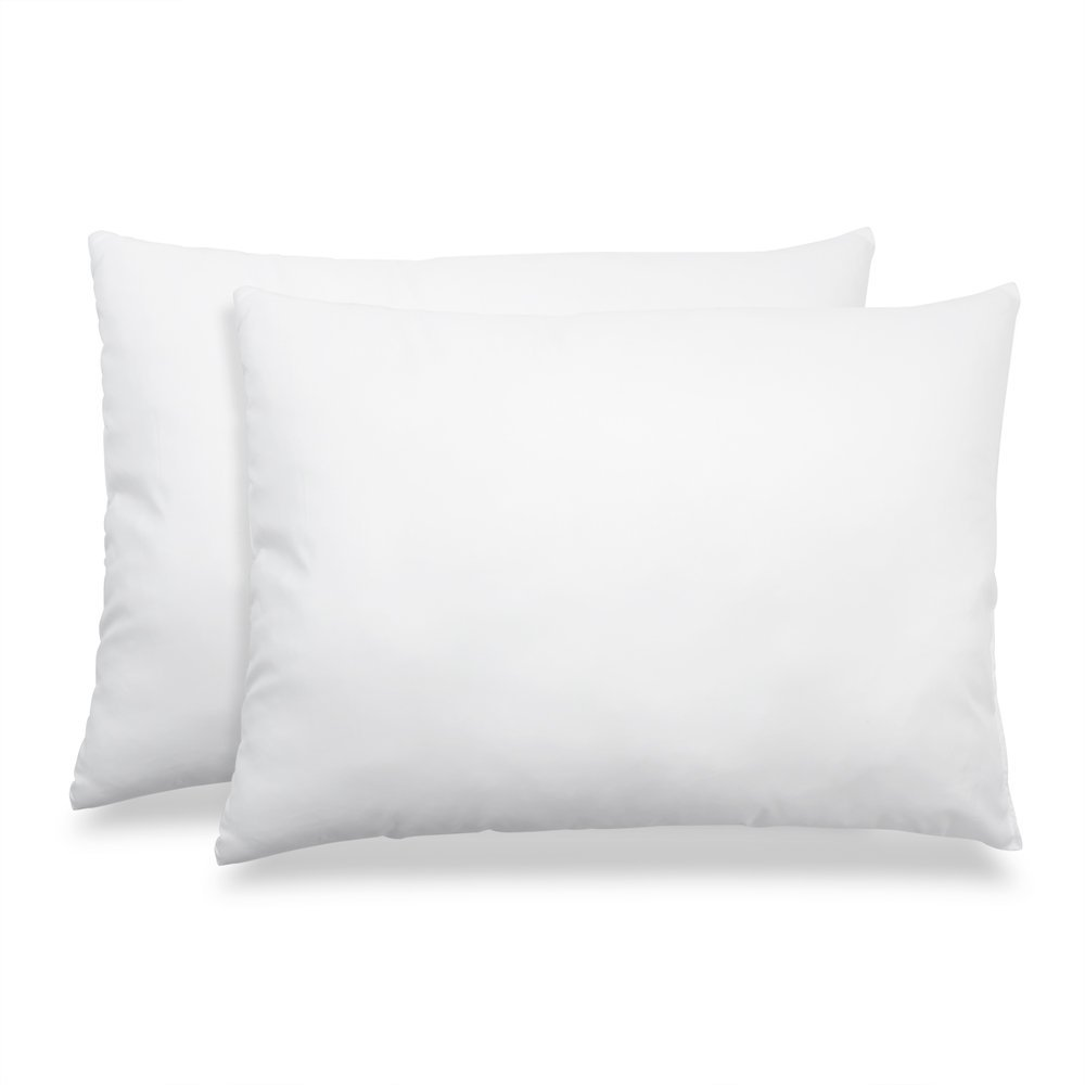 Hypoallergenic Down & Feather Fill Stomach Sleeper's Delight Pillow