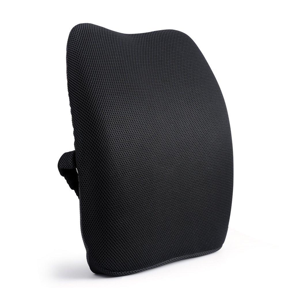 Orthopedic Memory Foam Lumbar Back Support Cushion Pillow