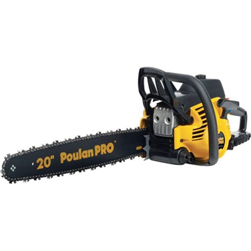 Poulan Pro PP5020AV 20 Inch 50cc 2 Stroke Gas Powered Chain Saw