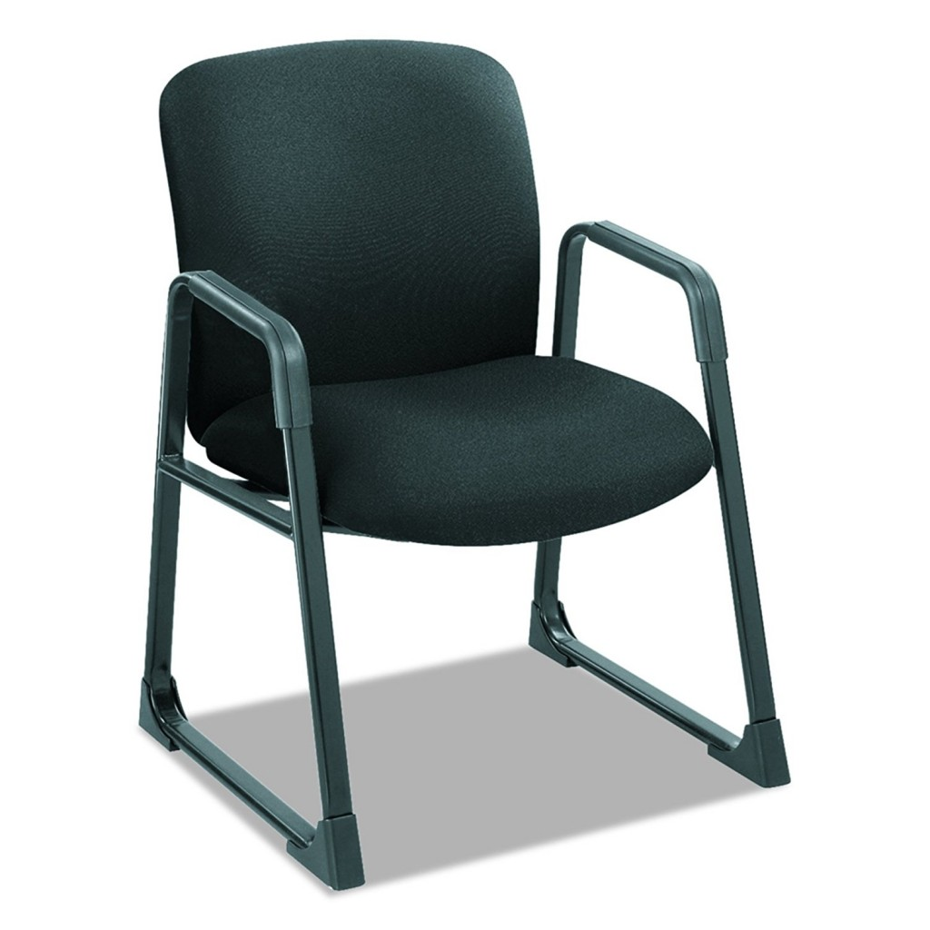 Safco Products 3492BL Uber Big And Tall Guest Chair