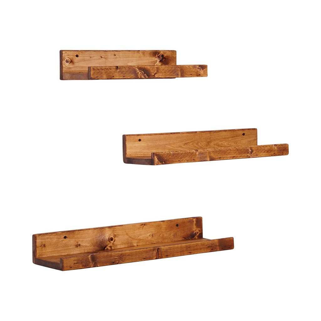 Del Hutson Designs Rustic Luxe Floating Shelves