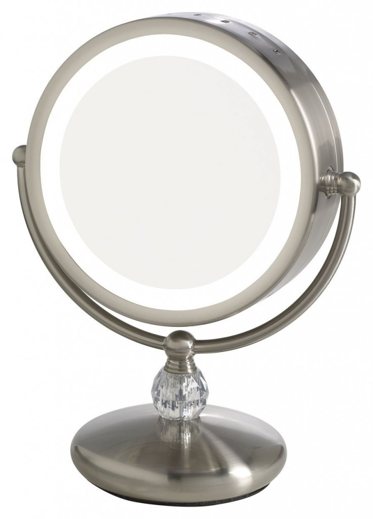 Makeup Vanity With Lighted Mirror
