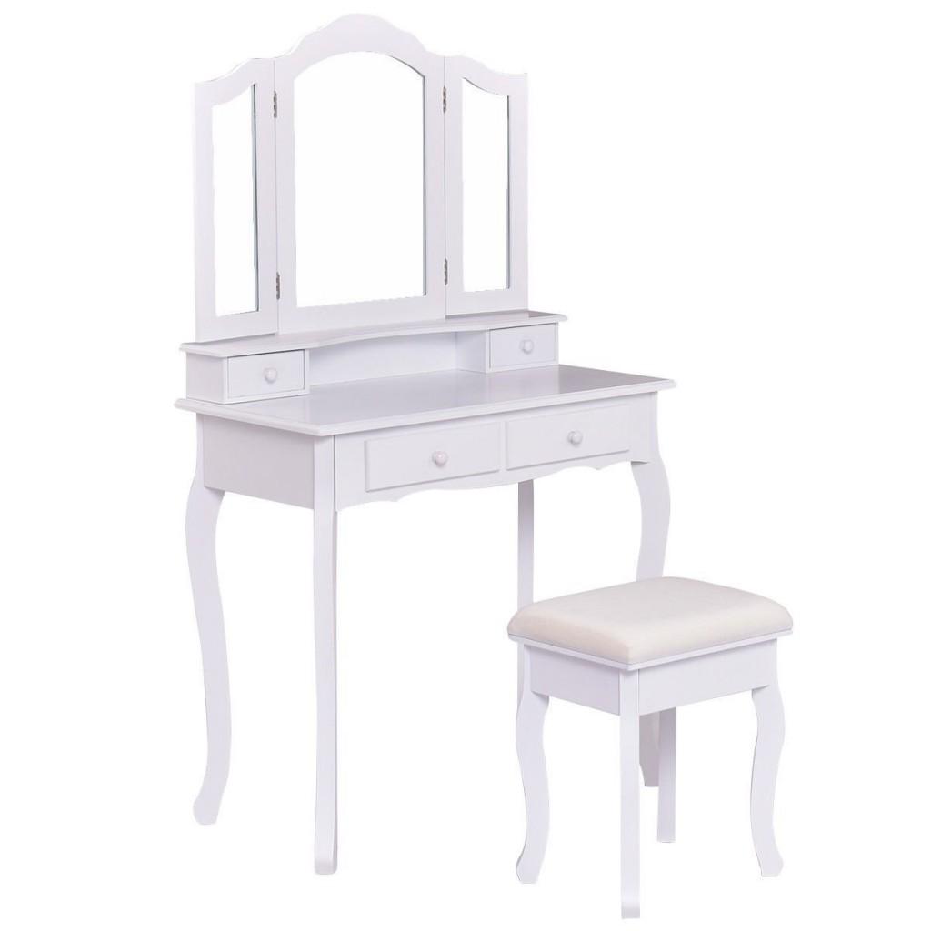 White Bathroom Vanity Set