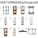 12 Best Corner Shelves Under 200$
