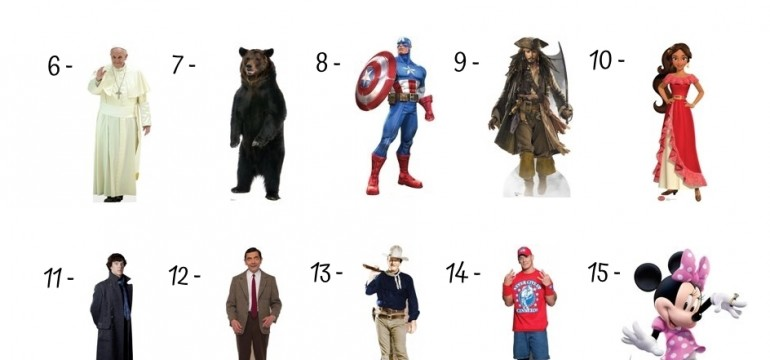 20 Best Cardboard Cutouts Under 50$