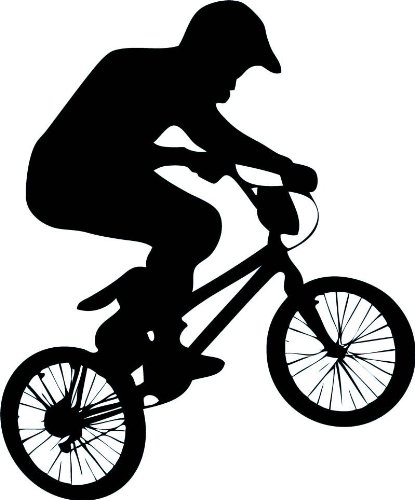 Bmx Wall Decal By Wallmonkeys Peel And Stick Graphic