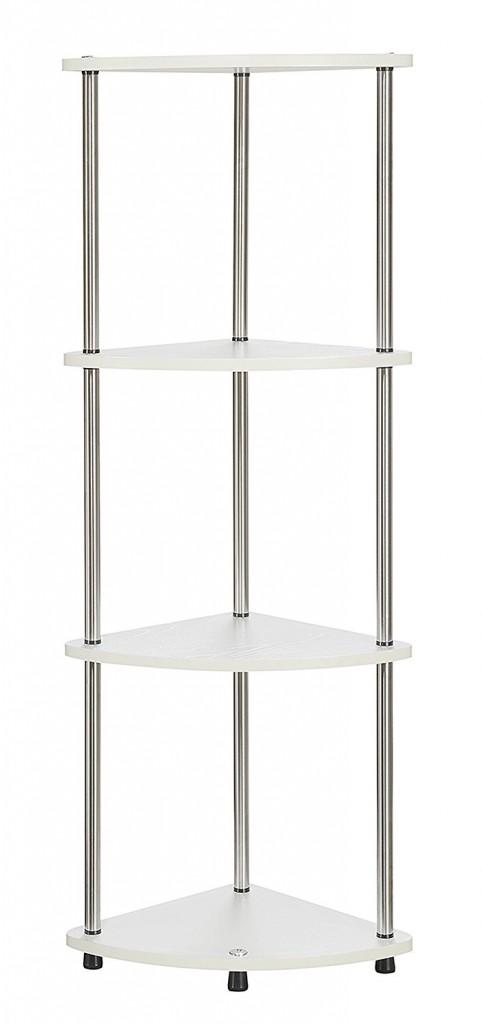 Convenience Concepts 111075W Designs2Go Corner Shelf