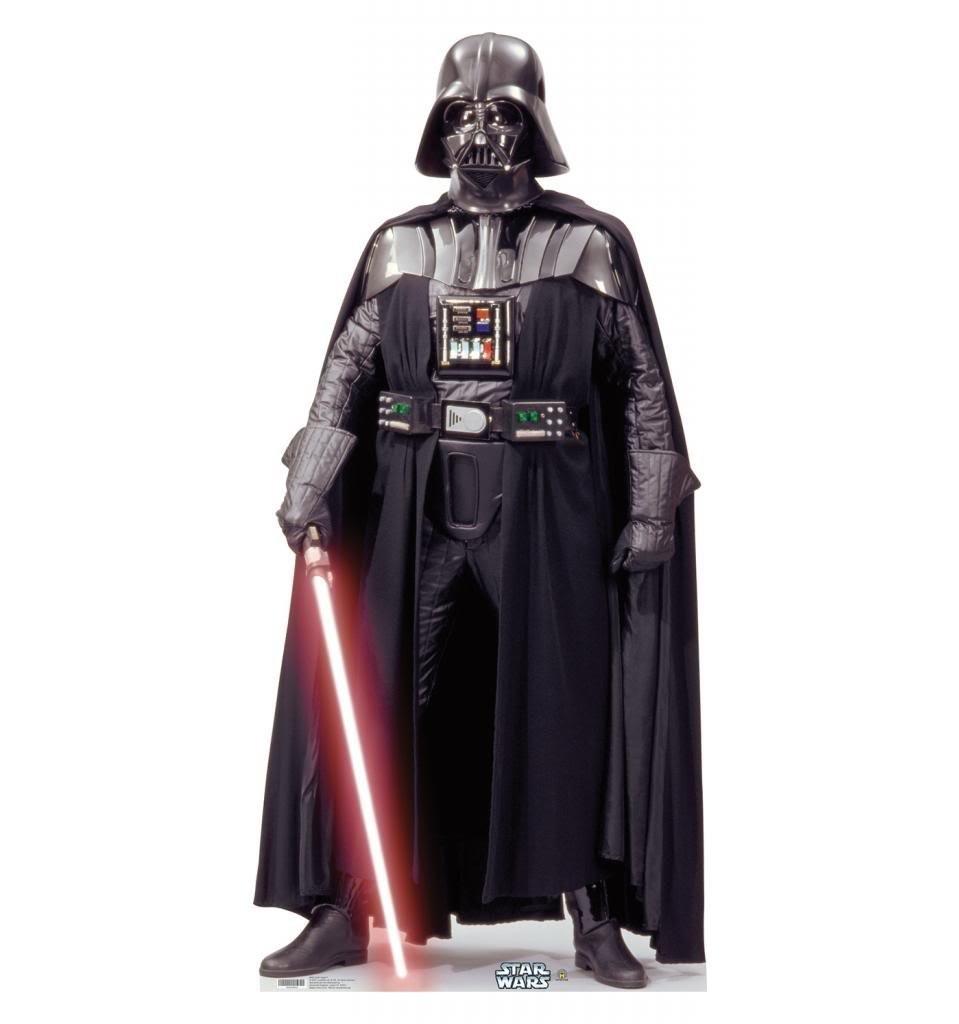 Darth Vader Star Wars Classics (IV VI) Advanced Graphics Life Size Cardboard Standup