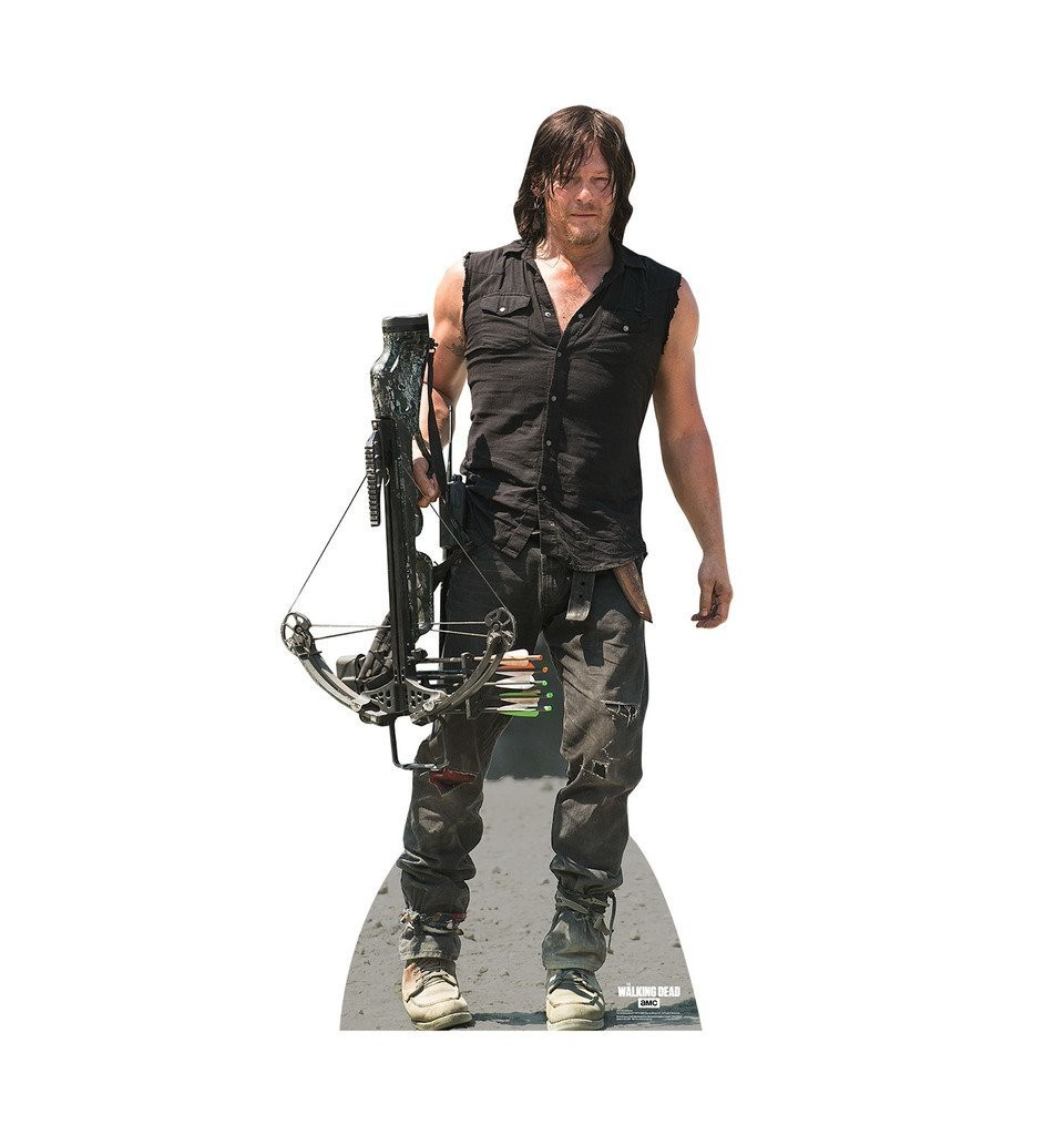 Daryl Dixon AMC's The Walking Dead Advanced Graphics Life Size Cardboard Standup