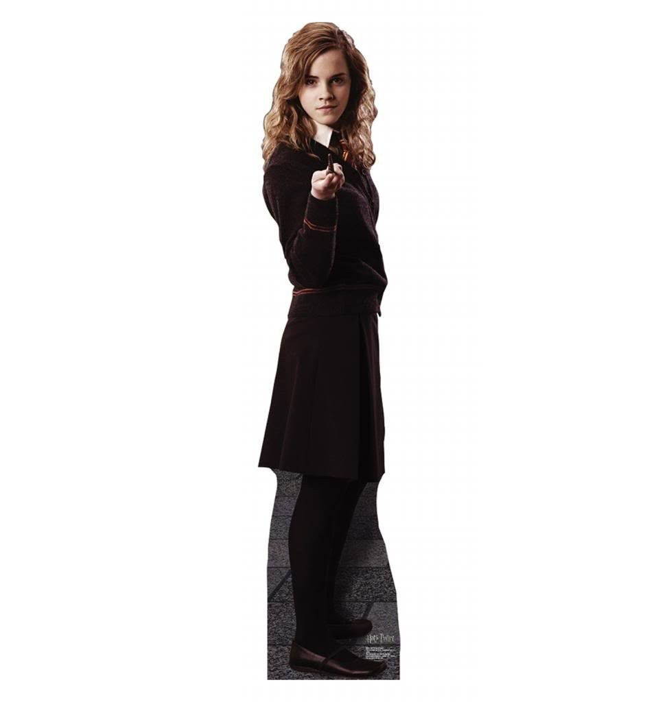 Hermione Granger Harry Potter And The Order Of The Phoenix Advanced Graphics Life Size Cardboard Standup