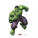 Hulk Marvel's Avengers Animated Advanced Graphics Life Size Cardboard Standup