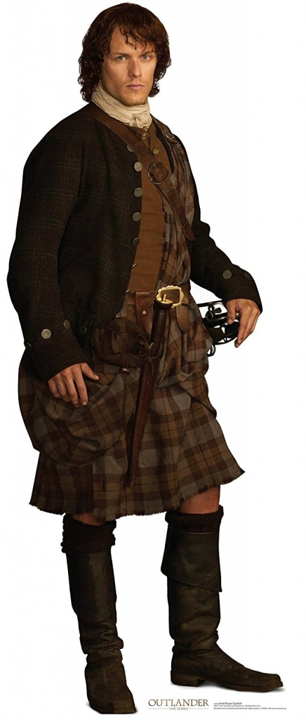 Jamie Fraser Scottish Version Starz Outlander Advanced Graphics Life Size Cardboard Standup