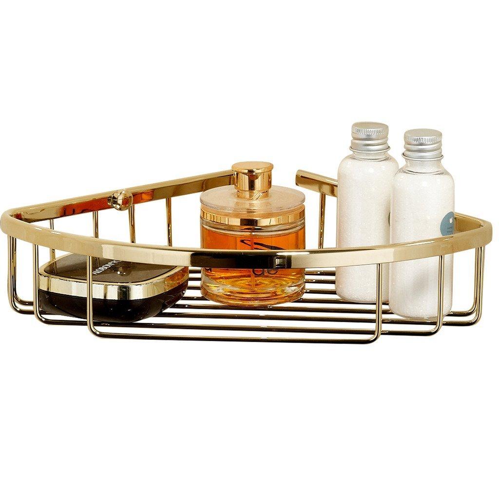 MARMOLUX ACCWT 512 Shower Corner Basket Bathroom Shower Storage Holder Caddy Shelf