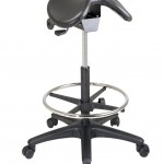 OSPST205 Office Star ST205 Backless Saddle Seat Stool
