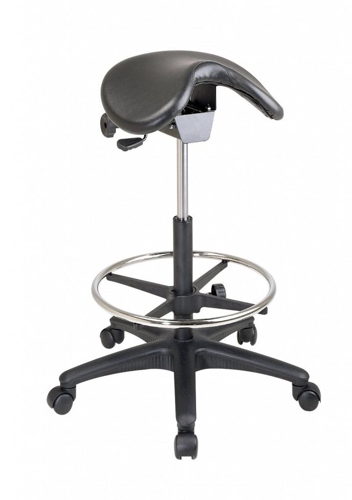 OSPST205 Office Star ST205 Backless Saddle Seat Stool