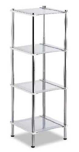 Organize It All Contas 4 Tier Shelf