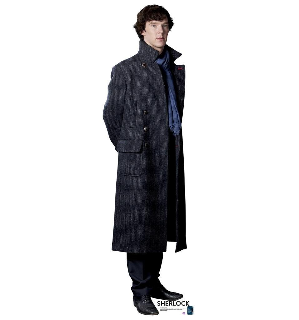 Sherlock Holmes BBC's Sherlock Advanced Graphics Life Size Cardboard Standup