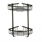 Shower Organizer Corner Basket By MAMOLUX ACC