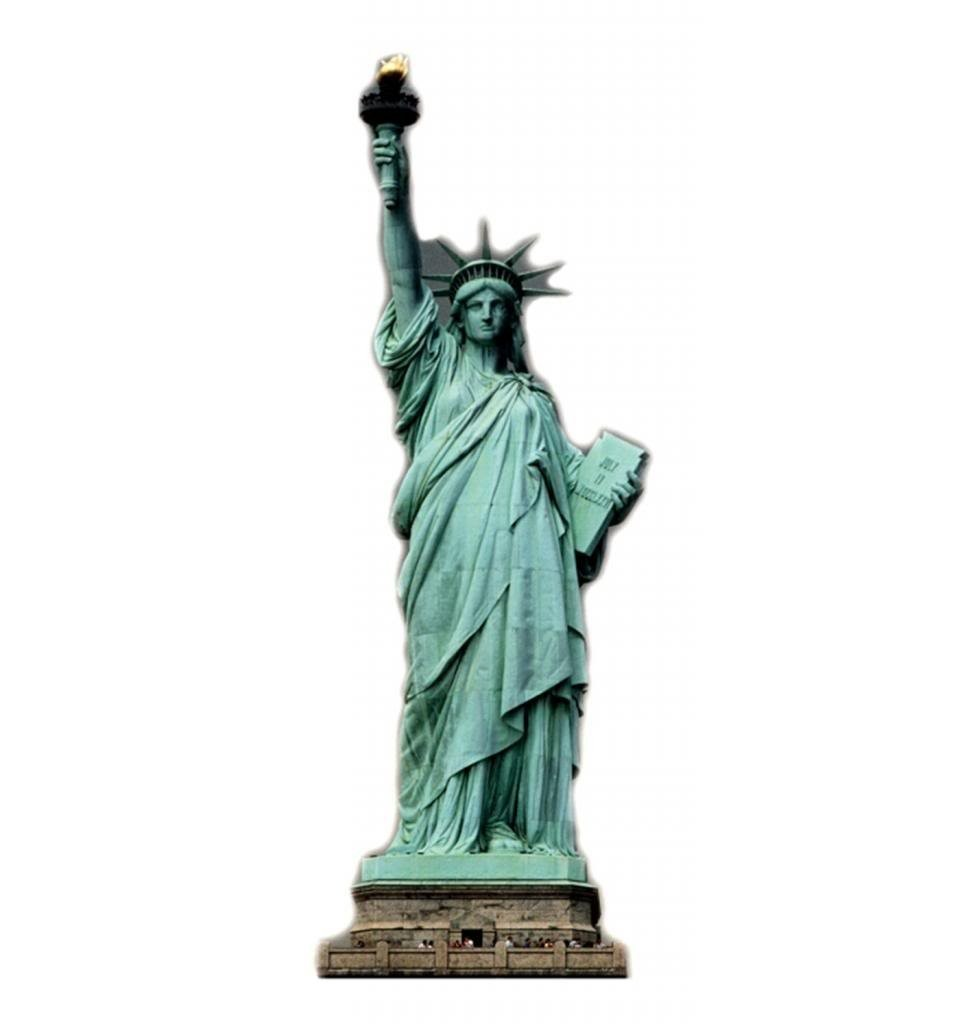 Statue Of Liberty Advanced Graphics Life Size Cardboard Standup