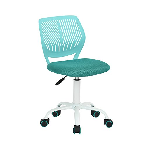 Turquoise Office Task Adjustable Desk Chair