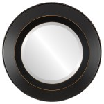 Black Vanity Mirror With Lights